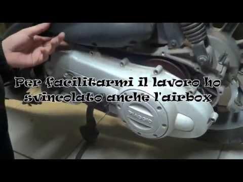 Smontaggio/Montaggio Variatore (Trasmissione Scooter)