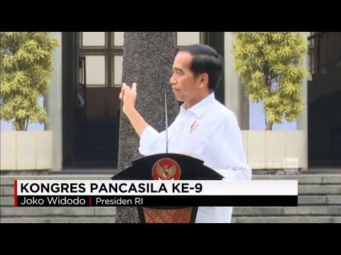 Nostalgia Presiden Jokowi Saat Menunggu Jam Kuliah di UGM Yogyakarta - Kongres Pancasila ke-9