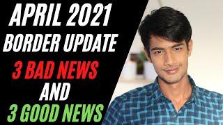 ARPIL 2021 3 BAD & 3 GOOD News for Australian border Update for International Students | Border News