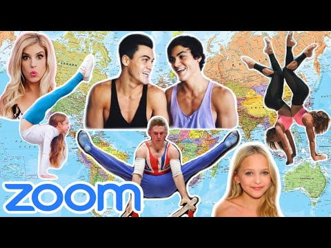 We Got ALL YouTubers That Can HANDSTAND In 1 ZOOM CALL To Compete in a COMPETITION!!!