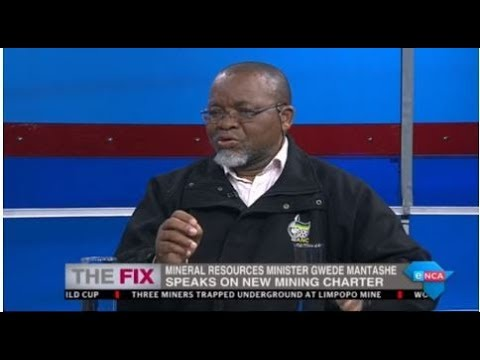 Gwede Mantashe on new Mining Charter. Part 2