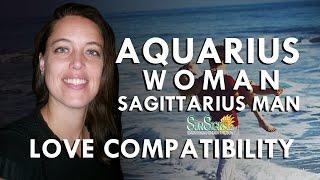 Aquarius Woman Sagittarius Man – A High Flying Relationship