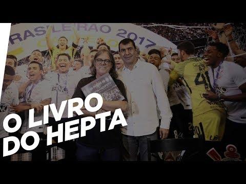 Lançamento do livro #HeptaDeRespeito