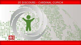 2e discours - cardinal Cupich 2019-02-22