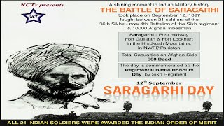 Battle of Saragarhi - Tribute to 21 Sikh soldiers - Motivational video - Never step back