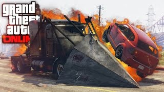 RAMP TRUCK & BUGGY RAMPAGE  GTA 5 (Online) w/ The Nobeds