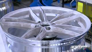 Alloy Wheel Making #3 - Painting