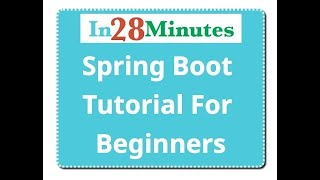 Spring Boot Tutorial For Beginners