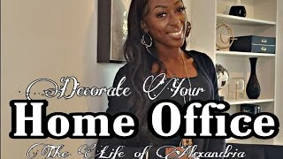 HOME OFFICE DIY DECOR TUTORIAL | HIS&HERS OFFICE TOUR WITH AFFORDABLE IKEA FURNITURE