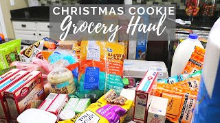 CHRISTMAS Baking GROCERY Haul // Cleaning Mom