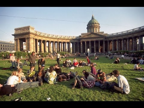 1990'LARIN BAŞINDA ST. PETERSBURG