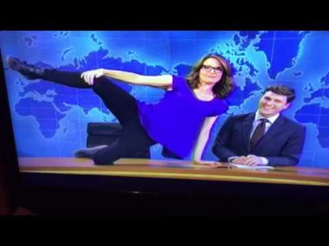 Tina Fey's Playboy Spread On SNL LOL #SNL