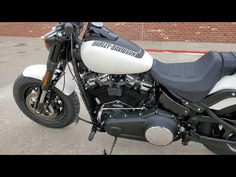 2018 Harley-Davidson Fat Bob® 107 in Ames, Iowa - Video 1