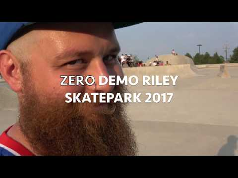 ZERO SKATEBOARDS Demo, Riley Skatepark 2017