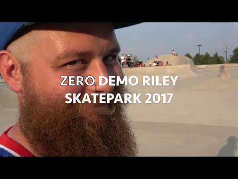 ZERO SKATEBOARDS Demo, Riley Skatepark 2017