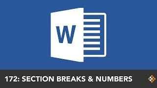Resetting Word Page Numbers with Section Breaks | Everyday Office 062