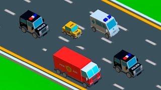 Мультики про машинки - Полицейская машина и Скорая помощь и другие машинки.