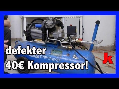 Güde Kompressor Druckschalter Reparatur einfach!