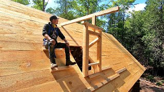 Im Building Dormers Over The Loft! / Log Cabin Update- Ep 13.11