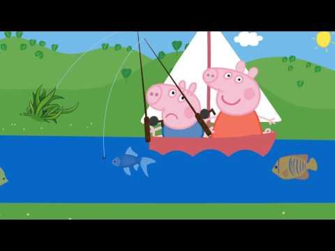 Свинка пеппа ловили рыбу