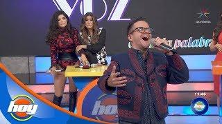 Mauricio Mancera enfrenta a Ana Bárbara en 'Canta la palabra' | Hoy