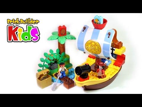 Vidéo LEGO Duplo 10514 : Le vaisseau pirate de Jake