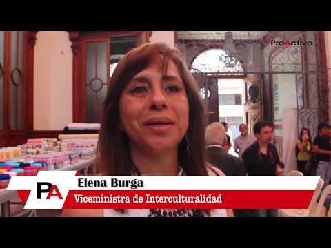 Entrevista a Viceministra de Interculturalidad Elena Burga