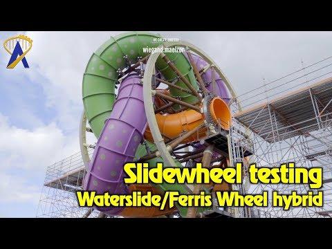 hqdefault - Una atracción para un parque acuático que gira como una noria