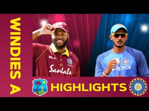 🔴LIVE West Indies A v India A 4th ODI | India Tour Of West Indies