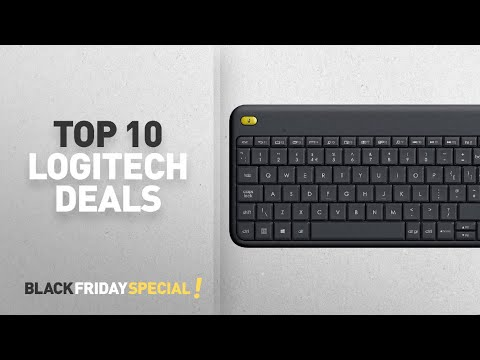 Black Friday Logitech: Logitech K400 Plus Wireless Touch Keyboard for Windows, Android and Chrome -