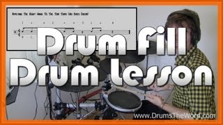 ★ Teddy Picker (Arctic Monkeys) ★ Drum Lesson | How To Play Drum Fill (Matt Helders)