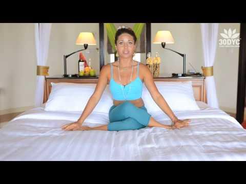 Bed Yoga 30 Day Yoga Challenge with Dashama