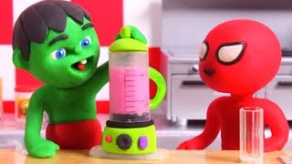 KIDS MAKING HEALTHY SMOOTHIES ❤ Cartoons For Kids
