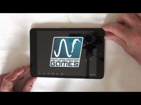 icoo fatty 7 85 inch android 4.2 tablet pc prestatie video