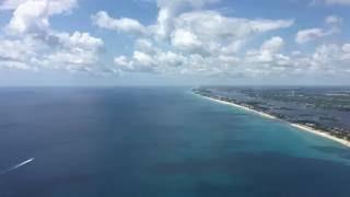 4K Daytime Landing At Palm Beach International Airport (PBI)