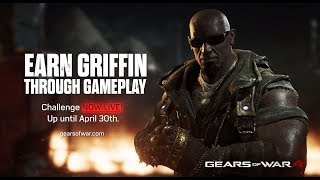 Gears of War 4 : Griffin Character Now Available : 750 Kill Challenge