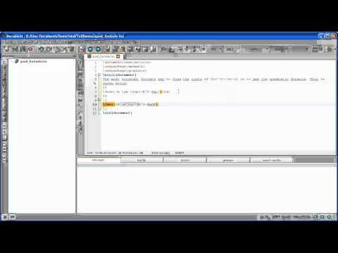 Εμφάνιση Μαθηματικού Κειμένου σε LaTeX