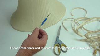 Basic Parts Of A Custom Lampshade