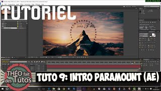 Tutoriel : Créer l'intro Paramount avec After Effects et Blender   (TFDT Ep9)