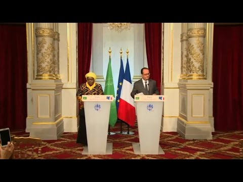 L'immigration africaine au cœur de la rencontre Zuma/Hollande