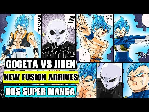 Beyond Dragon Ball Super: Gogeta Is Born! Jiren Vs Gogeta Finale