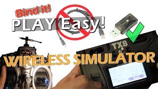 How to Wireless Simulator   How to bind RadioMaster Transmitter   Frsky XSR SIM USB
