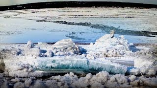Ледоход начало- 2018-паводок -Лед тронулся