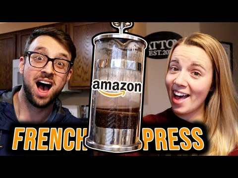 ANOTHER AMAZON FRENCH PRESS! - Basa French Press Review
