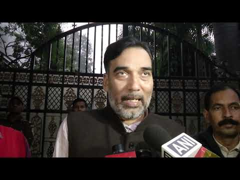 AAP Delhi Convenor Gopal Rai Briefed after the Meeting of Delhi State Organisation