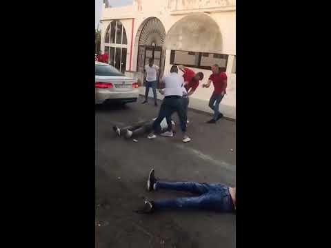 Gran pelea por celos en la puerta de una discoteca en Marbella