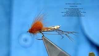 Tying A CDC Bubble Daddy Long Legs By Davie McPhail