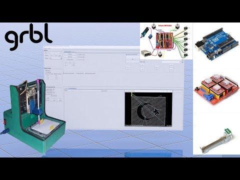Ardunio  CNC Shield  ve GRBL Ayarları