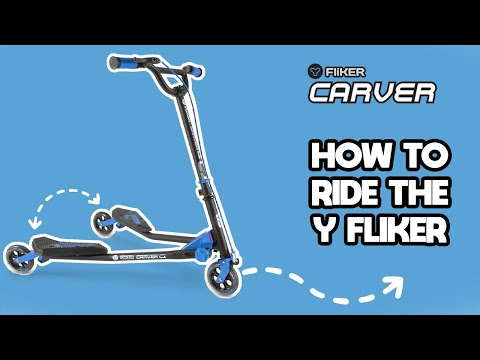 Yvolution's YFliker 3 Wheeled Scooter - Learn to Ride