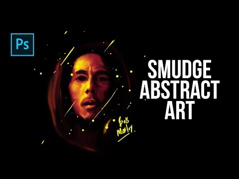 How to Create Smudge Abstract Art in Photoshop – Photoshop Tutorials
